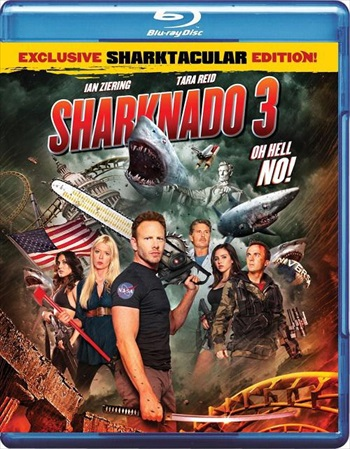 Sharknado 3 - Oh Hell No 2015 UNCUT Dual Audio Hindi Bluray Download