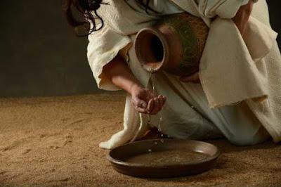 A lavagem ritual das mãos