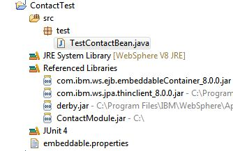 WebSphere and Java Persistence
