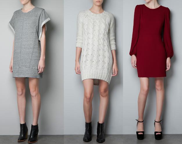vestidos diferentes e innovadores de zara