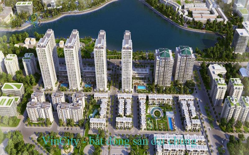 Phối cảnh dự án Vincity New Saigon