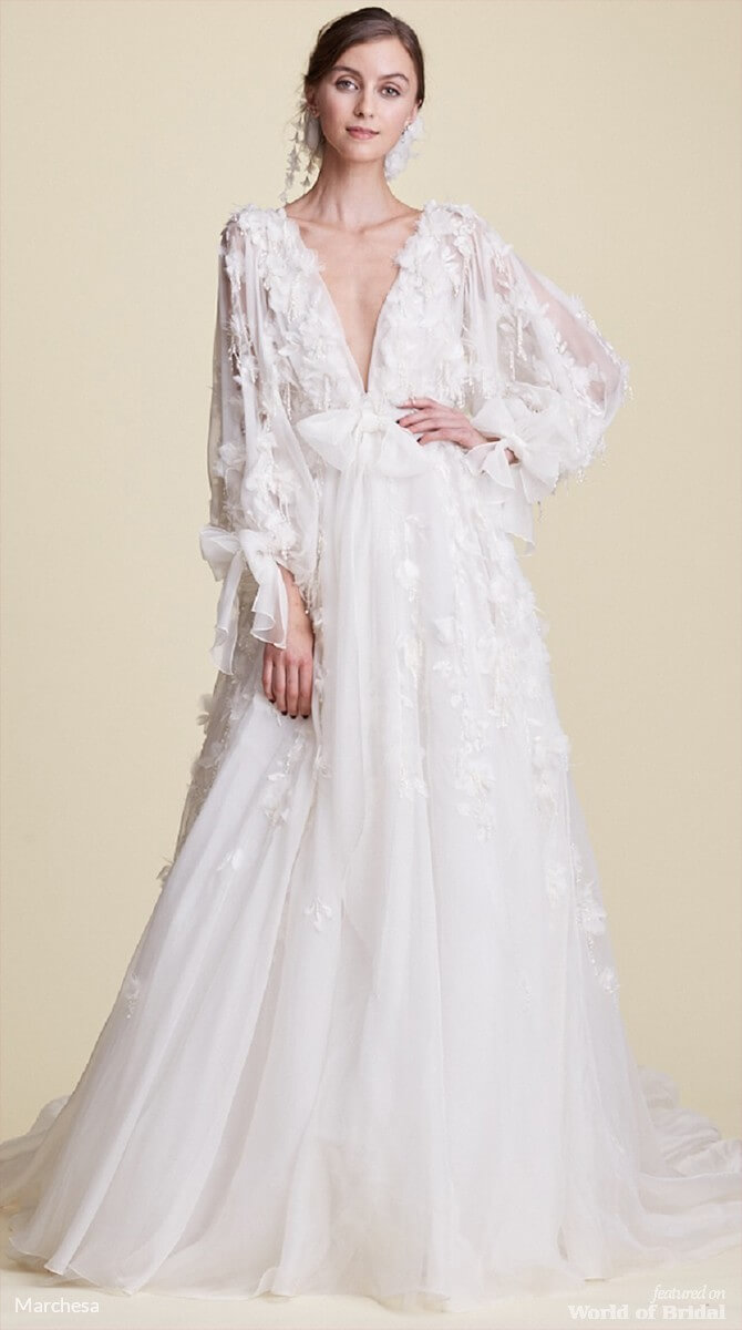 marchesa wedding dresses marchesa fall 2018 wedding dresses world of bridal 5705