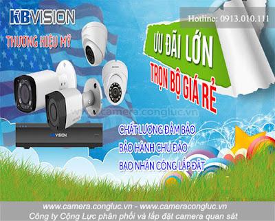 Lắp đặt trọn bộ camera giá rẻ tại Quán Nam Hải Phòng.