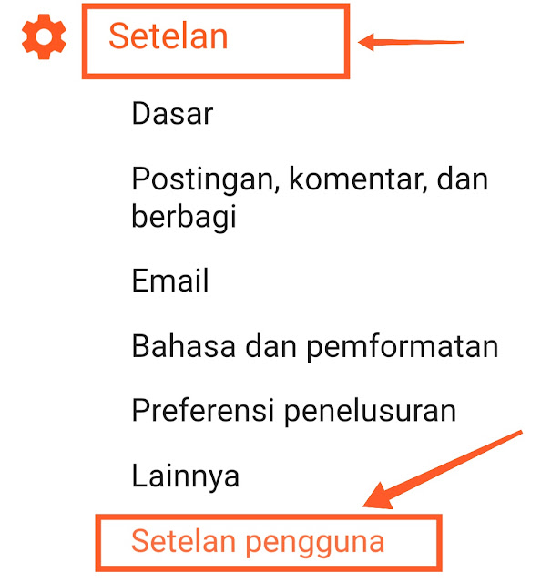 Cara ubah profil google plus ke Blogger