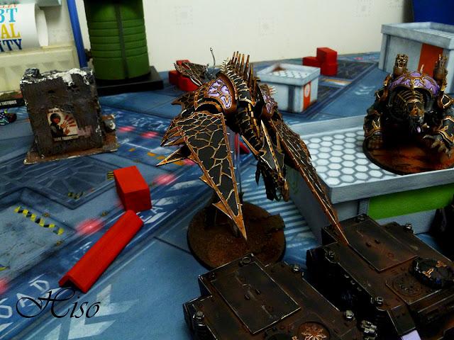 batRep - 40k - SMC vs SoB