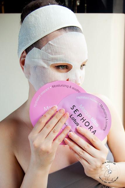 maseczka na bawełnanym płacie nawilżająca sheet mask kosmetyki Sephora