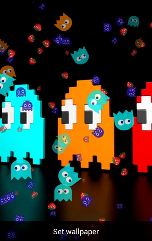 Pacman Live Wallpaper   Free Hd Wallpapers