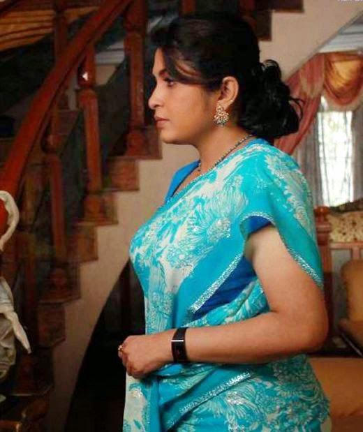 Actress Ramya Krishnan New Saree Photos South Actress