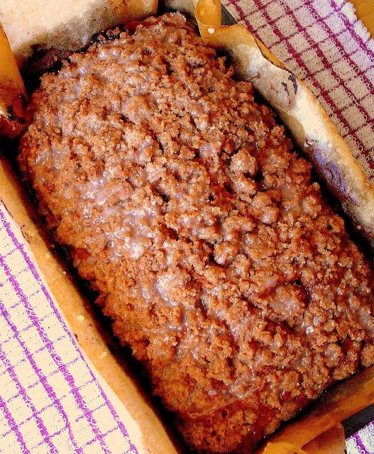 Cynamonowe ciasto z podwójną kruszonką