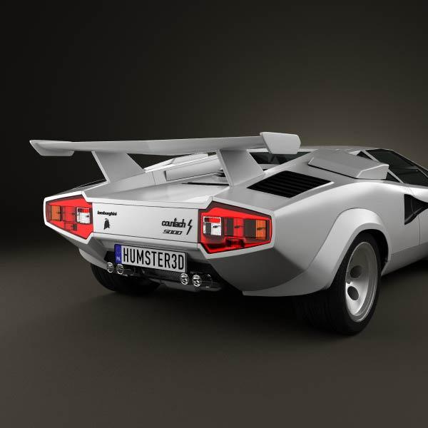 Luxury Lamborghini Cars: Lamborghini Countach 5000