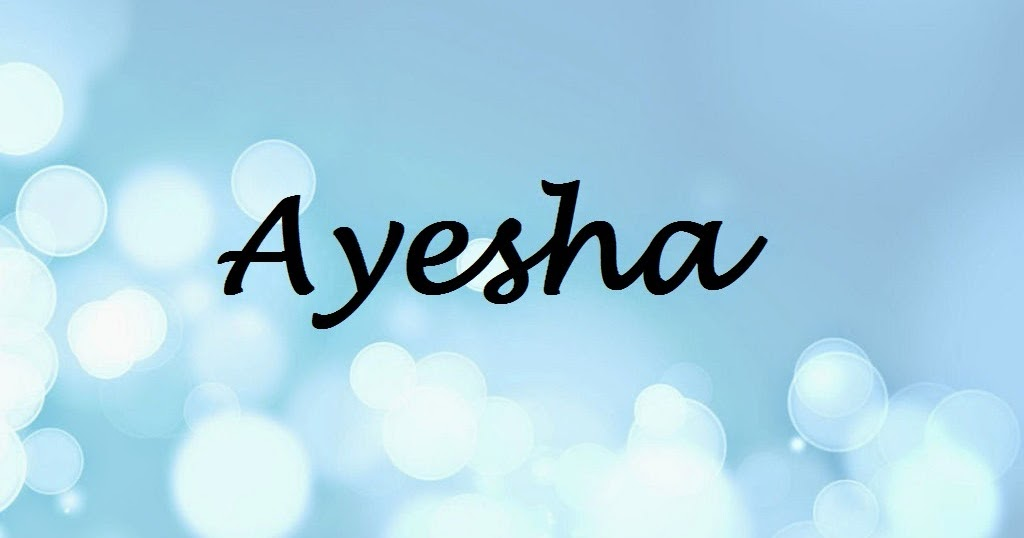 4 Exactly Living: Aisha Name Wallpapers 30247 TIMEHD