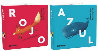 selección cuentos infantiles día del libro 2018 rojo azul cartone combel