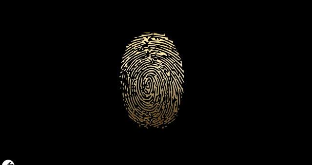 Fingerprint Black Wallpapers