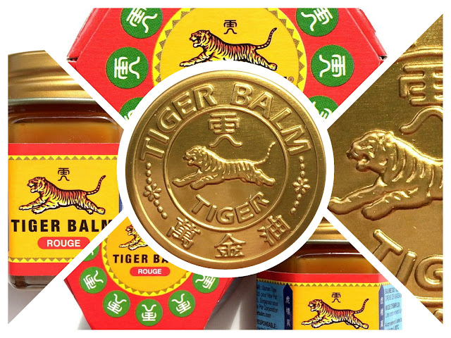 TIGER BALM - Baume du Tigre . Review Photos