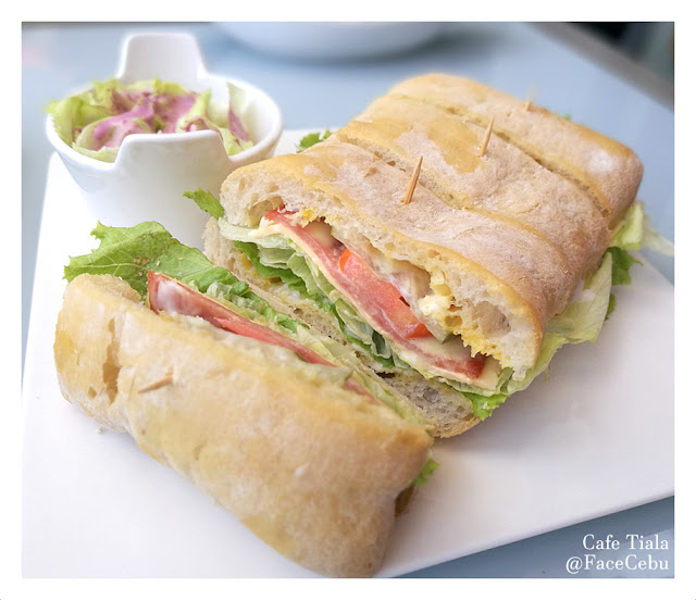 Tiala Sandwich from Cafe Tiala