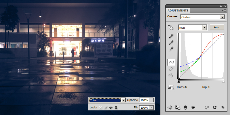 Layer Curves Adjustment Tutorial