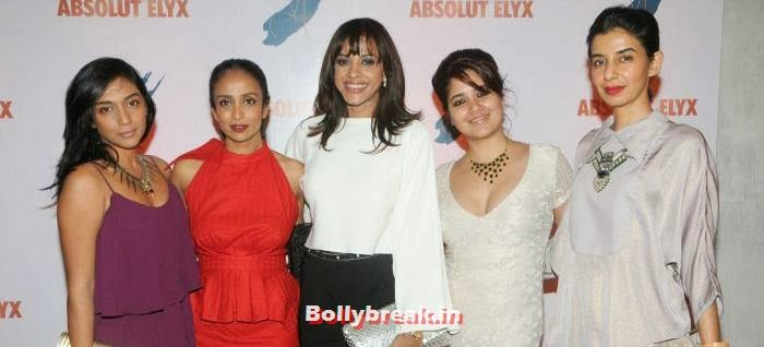 Shweta Salve,Suchitra Pillai, Manasi Scott,Narayani Shastri, Ekta Rajani, Suchitra Pillai Hosted Absolute Elyx Party