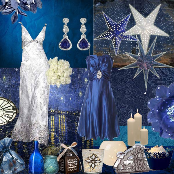 Nailya S Blog Silver And Blue Wedding Dresses Paris