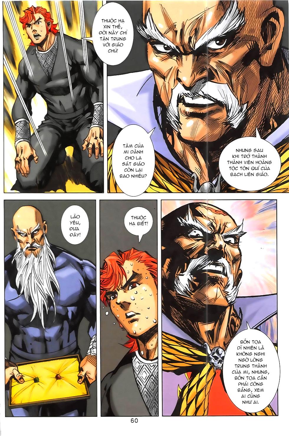Hoàng Giả Chi Lộ chap 12.2 Trang 32 - Mangak.info