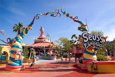 Dr. Seuss Universal Studios Orlando Floride