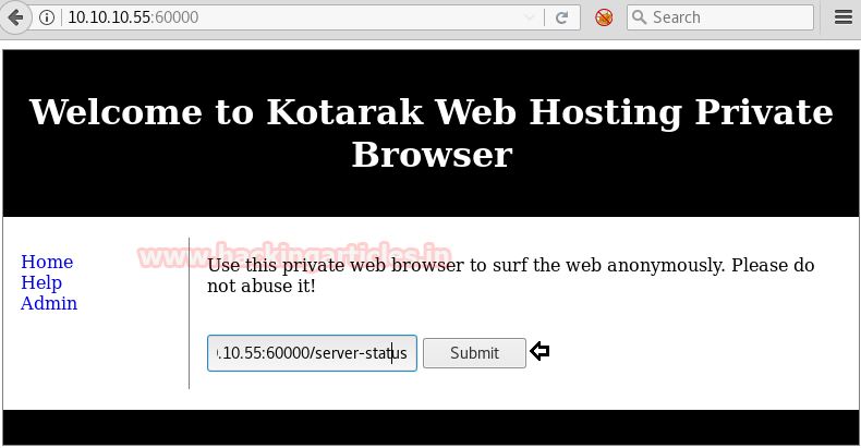 Hack the Box Challenge Kotarak Walkthrough – MCYSECC