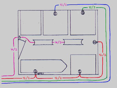 Wiring Diagram Typical laundry room