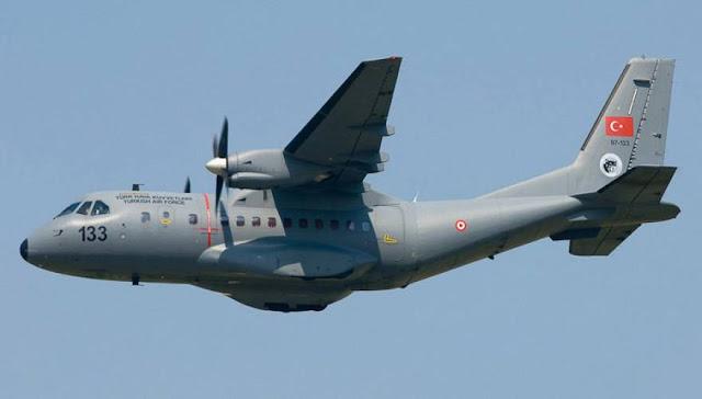 ΣΕ ΣΥΝΑΓΕΡΜΟ ΟΙ ΕΛΛΗΝΙΚΕΣ ΕΝΟΠΛΕΣ ΔΥΝΑΜΕΙΣ ΕΚΤΑΚΤΟ: Νυχτερινή «εισβολή» τουρκικού CN-235 στο Αιγαίο - Πέταξε επανειλημμένα πάνω από τη νήσο Παναγιά