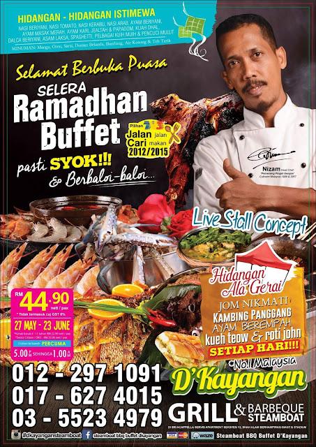 D'Kayangan Steamboat BBQ Buffet di Seksyen 13 Shah Alam