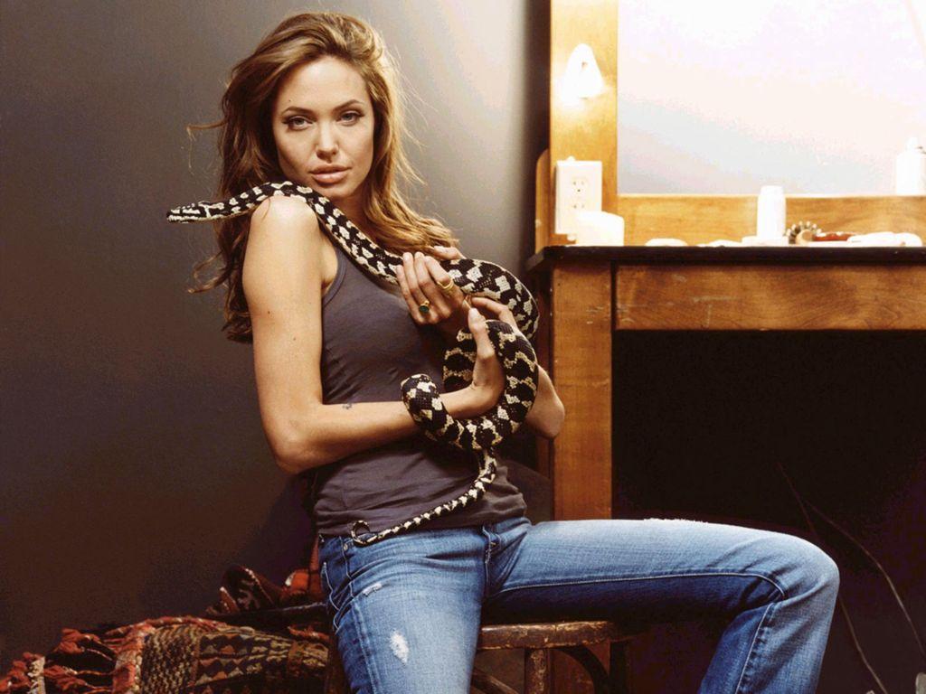 Angelina Jolie Latest Beautiful Hot Wallpaper/Image