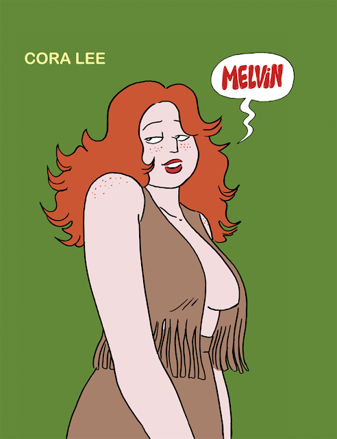 shoo bop Melvin  illustration drawing artur laperla