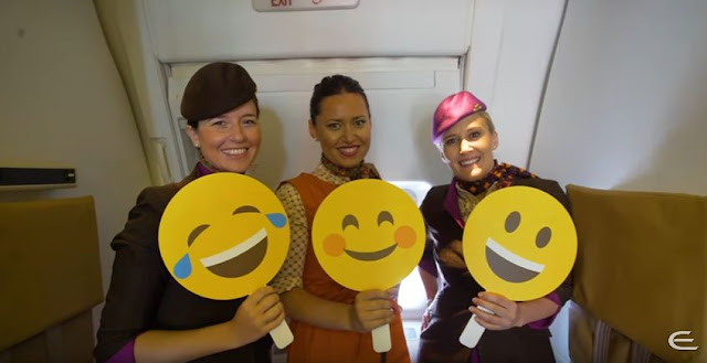 Ethihad Airways Celebrates International Day of Happiness