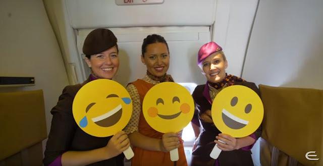 Ethihad Airways Celebrates International Day of Happiness