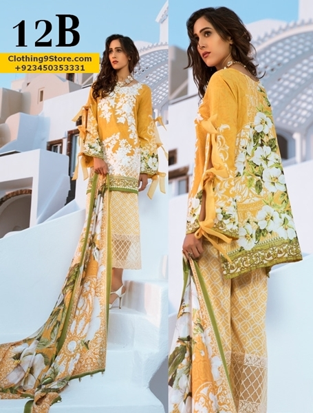 Honey Waqar Summer Lawn Dresses Collection 2017 by Z.S Textiles