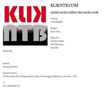 pemilik situs klikntb.com adalah heru asli surabaya