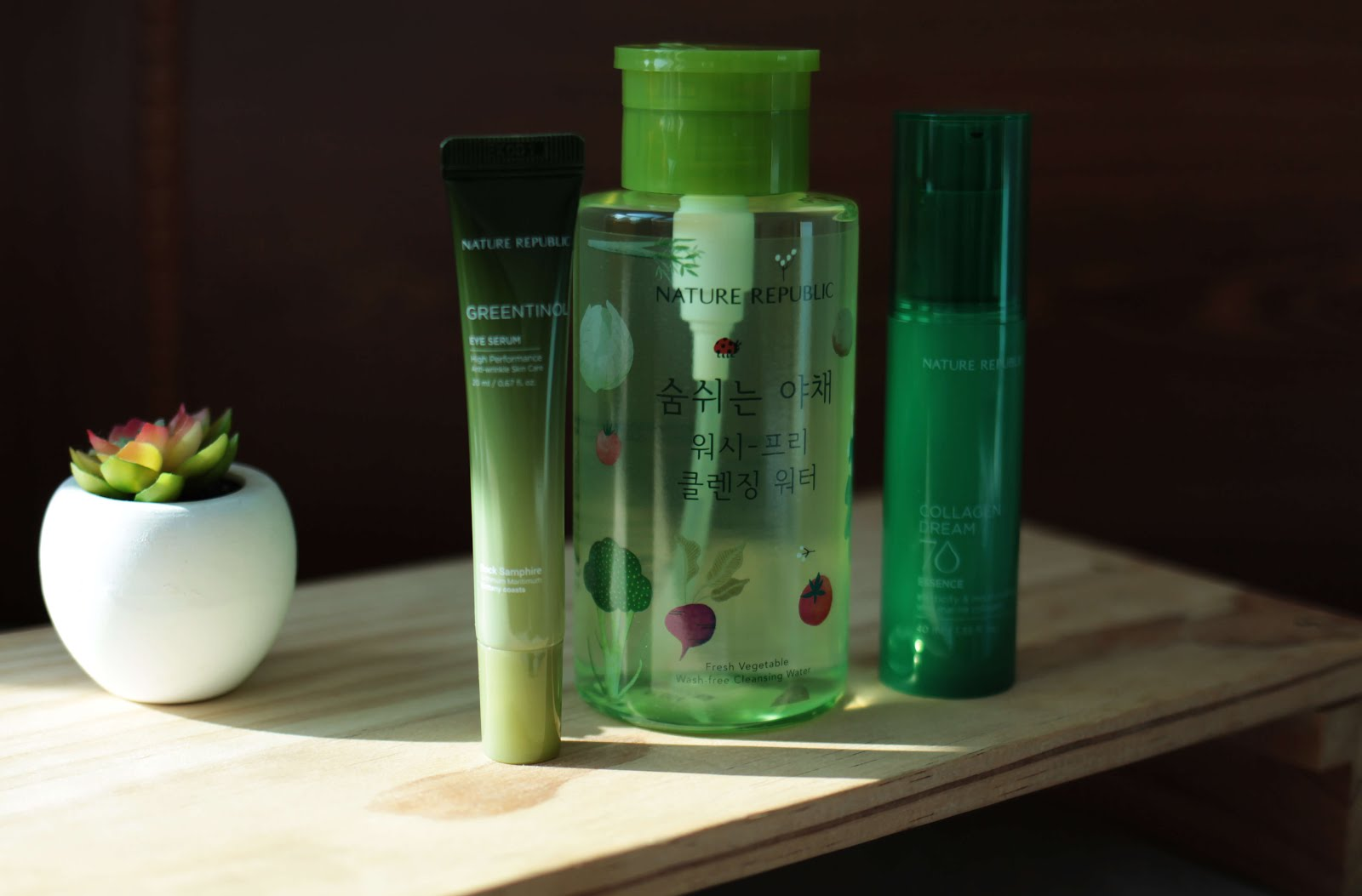 korean beauty nature republic skincare haul