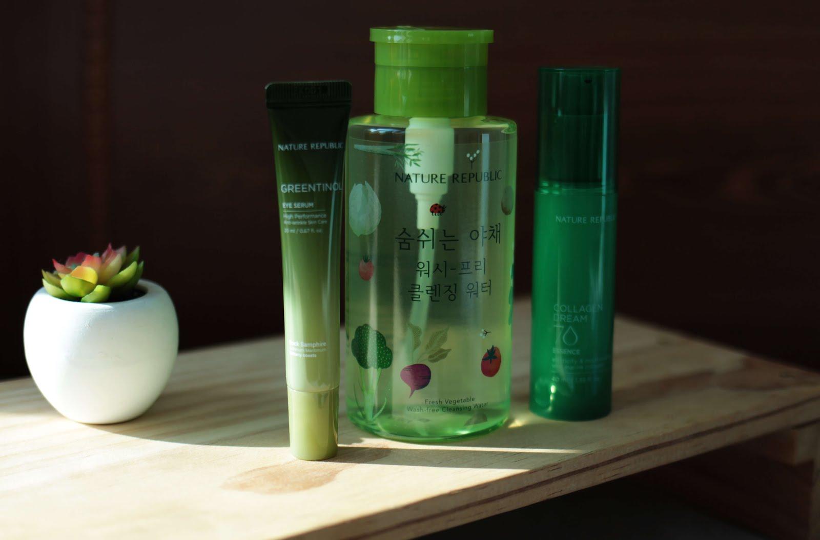 korean beauty nature republic skincare haul