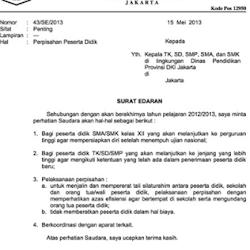 Contoh Surat Resmi Kedinasan Suratdinasxyz