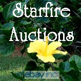 I'm Starfire Auctions on Ebay...