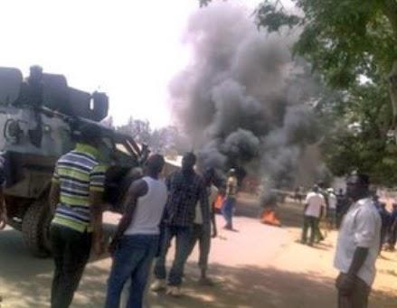 boko haram bombed church adamawa