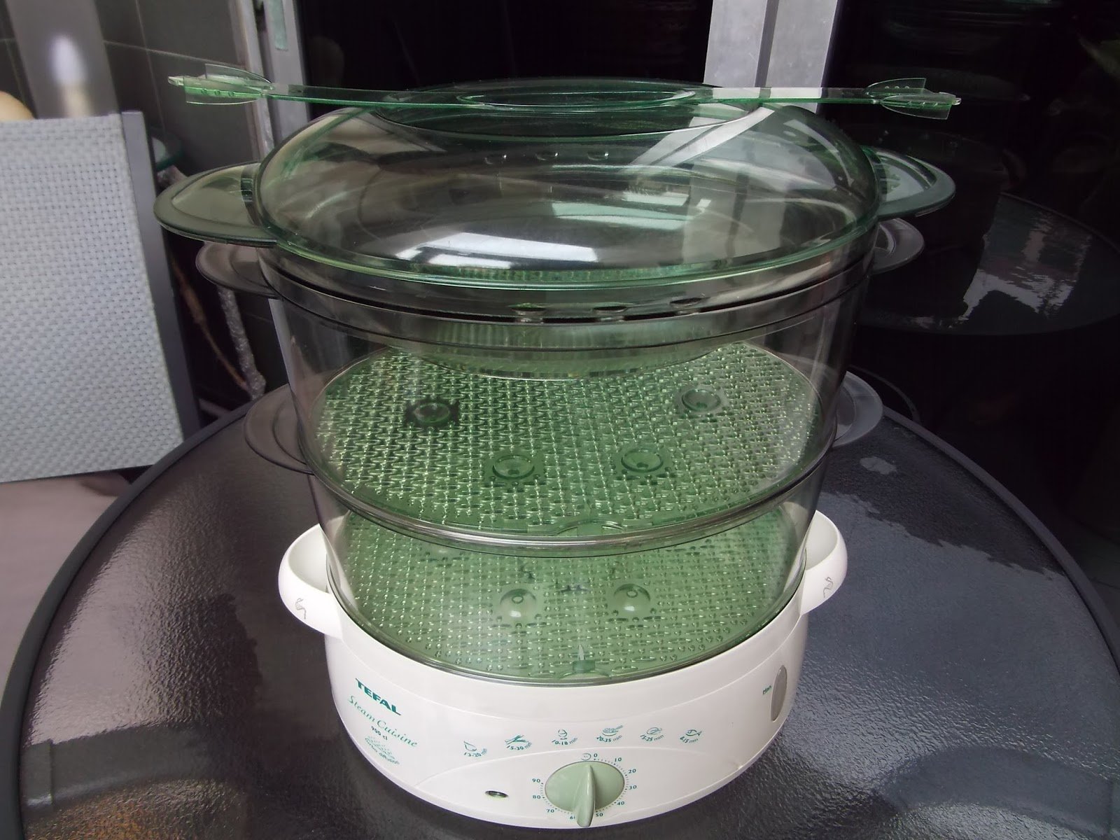 Glass Electric Steamer ~ Home clearance sale tefal electric steamer cl tier