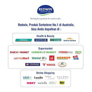 tempat membeli redwin sorbolene moisturizer