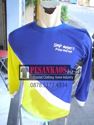 pesan olahraga sekolah termurah di suarabaya, order kaos sablon seragam di surabaya