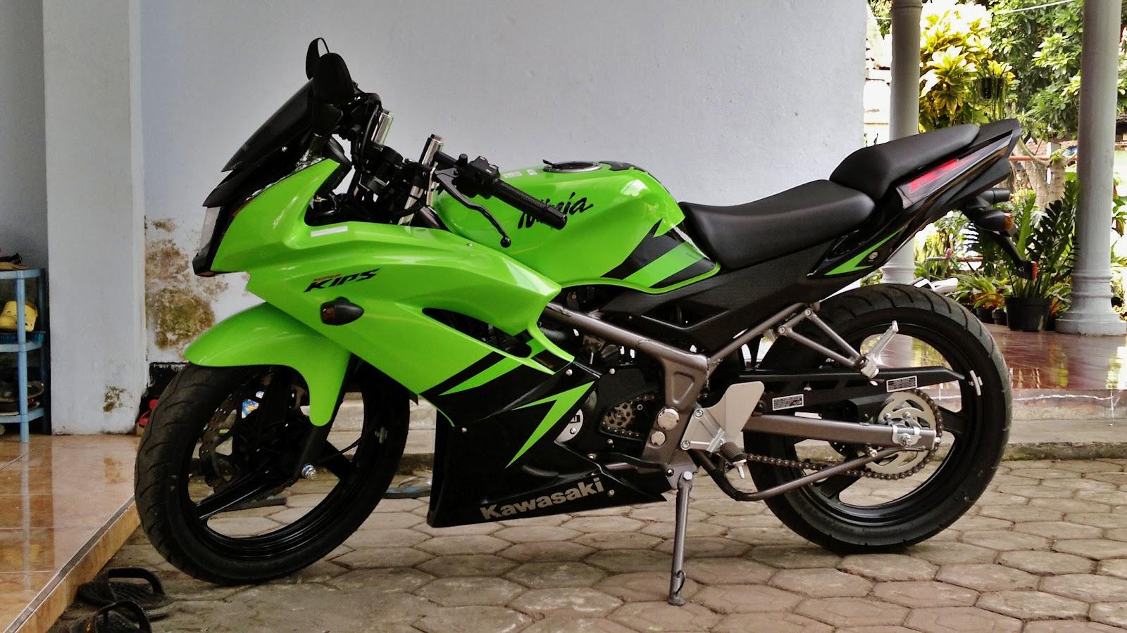 Modifikasi Kawasaki New Ninja 150 Rr