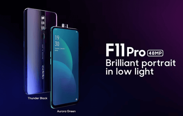 OPPO F11 Pro Launched With Pop Up Selfie Camera