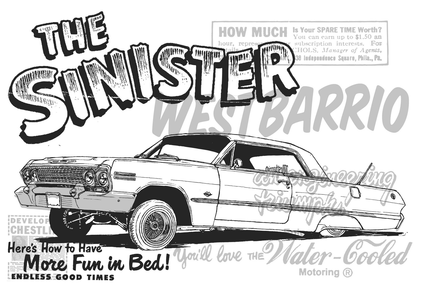 1962 chevy impala lowrider