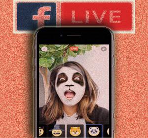 Facebook Live Streaming Tambahkan Fitur Baru 'Mask' (Topeng), Begini Cara Menggunakannya