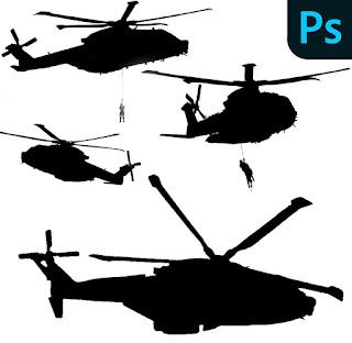 فرش فوتوشوب طائرات هليكوبتر