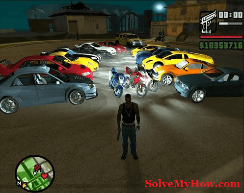 gta san andreas cheat codes pc