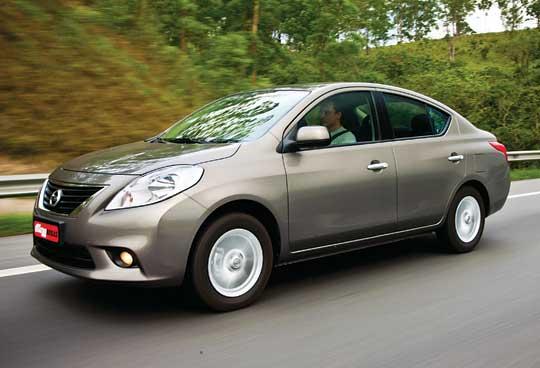 Imagens Do Novo Nissan Versa Fotos De Carros