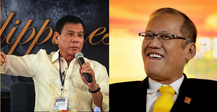 "Word war continues: ""Naniwala pala sya?"", Duterte tells Aquino"